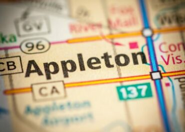 Appleton Wisconsin on Map