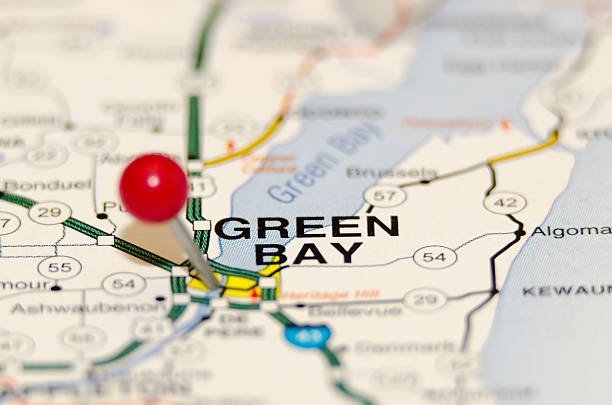 Green Bay on map