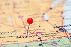 Madison-on-map