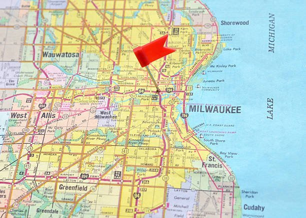 Map of Milwaukee