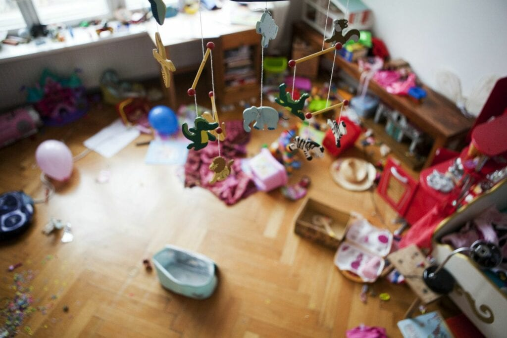 Children Messy Room