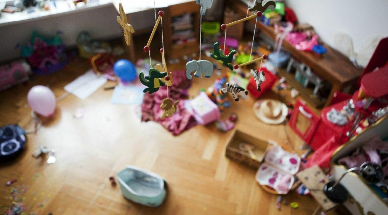 Children Messy Room